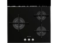Газовая варочная панель, 60 см, Чёрный Smeg PV163N2