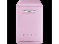 Отдельностоящая посудомоечная машина в стиле 50-х годов, 60 см, Розовый Smeg LVFABPK
