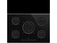 Газовая варочная панель, 75 cм, Чёрный Smeg PV675CNX