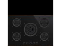 Газовая варочная панель, 75 cм, Чёрный Smeg PV675CNR