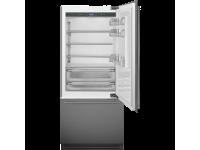 Встраиваемый холодильник, 90 см, Нержавеющая сталь Smeg RI96RSI