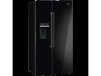Отдельностоящий холодильник Side-by-Side, Чёрный Smeg SBS63NED