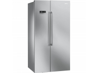 Отдельностоящий холодильник Side-by-Side, Нержавеющая сталь Smeg SBS63XE
