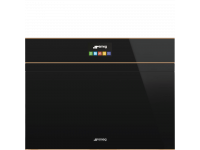 Компактный духовой шкаф, комбинированный с микроволновой печью, 60 см, Чёрный Smeg SF4604PMCNR