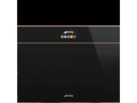 Компактный духовой шкаф, комбинированный с пароваркой, 60 см, Чёрный Smeg SF4604PVCNR1