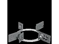 Набор декоративных решеток для варочных панелей Smeg KPDSN100L. Дизайн - листья.