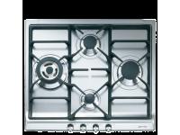 Газовая варочная панель, 60 cм, Нержавеющая сталь Smeg SER60SGH3