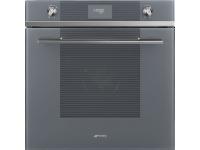 Многофункциональный духовой шкаф с пиролизом, 60 см, Серебристый Smeg SFP6101VS