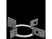Набор декоративных решеток для варочных панелей Smeg KPDSN75B. Дизайн - фрукты.