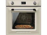 Многофункциональный духовой шкаф с функцией пиролиза, 60 см, Кремовый Smeg SFP6925PPZE1