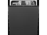 Полностью встраиваемая посудомоечная машина, 60 см, Чёрный Smeg STL67120