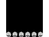 Набор ручек для варочных поверхностей Smeg 6MP1PGF