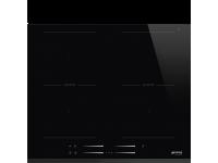 Индукционная варочная панель, 60 см, Чёрный Smeg SI2M7643B