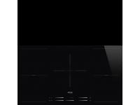 Индукционная варочная панель, 90 см, Чёрный Smeg SI2M7953D