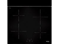Индукционная варочная панель, 60 см, Чёрный Smeg SI5641D