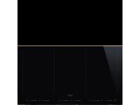 Индукционная варочная панель, 90 см, Чёрный Smeg SIM693WLDR