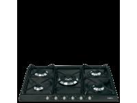 Газовая варочная панель, 70 см, Антрацит Smeg SR775AS