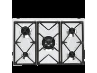 Газовая варочная панель, 70 см, Белый Smeg SR975BGH
