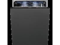Полностью встраиваемая посудомоечная машина, 60 см, Серебристый Smeg ST733TL-2