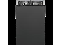 Полностью встраиваемая посудомоечная машина, 45 см, Чёрный Smeg STA4505IN