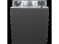 Полностью встраиваемая посудомоечная машина, 60 см, Серебристый Smeg STA6443-3