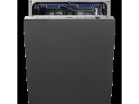 Полностью встраиваемая посудомоечная машина, 60 см, Чёрный Smeg STA7233L