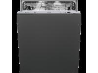 Полностью встраиваемая посудомоечная машина, 60 см, Чёрный Smeg STE8239L
