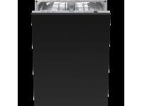 Полностью встраиваемая посудомоечная машина, 60 см, Чёрный Smeg STLA825A-2