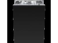 Полностью встраиваемая посудомоечная машина, 60 см, Чёрный Smeg STLA825B-2