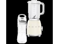 Стационарный блендер, объем кувшина 1,5 л, Кремовый Smeg BLF01CREU + переносной контейнер из TritanTM BGF01 в подарок!