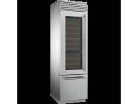 Винный холодильник отдельностоящий, 60 см, Нержавеющая сталь Smeg WF366LDX