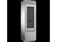 Винный холодильник отдельностоящий, 60 см, Нержавеющая сталь Smeg WF366RDX