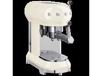 Кофемашина-эспрессо, Кремовый Smeg ECF01CREU