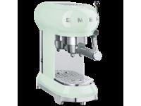 Кофемашина-эспрессо, Зеленый Smeg ECF01PGEU