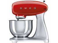 Планетарный миксер, мощность 0,8 кВт, объем чаши 4,8 л, Красный Smeg SMF01RDEU