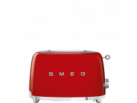 Тостер на 2 ломтика, Красный Smeg TSF01RDEU