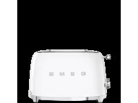 Тостер на 2 ломтика, Белый Smeg TSF01WHEU