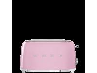 Тостер на 4 ломтика, Розовый Smeg TSF02PKEU