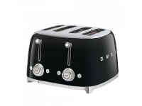 Тостер на 4 ломтика, Чёрный Smeg TSF03BLEU