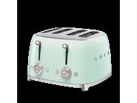 Тостер на 4 ломтика, Зеленый Smeg TSF03PGEU