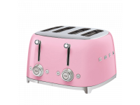 Тостер на 4 ломтика, Розовый Smeg TSF03PKEU