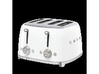 Тостер на 4 ломтика, Белый Smeg TSF03WHEU