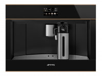 Автоматическая кофемашина, 60 см, Чёрный Smeg CMS4604NR