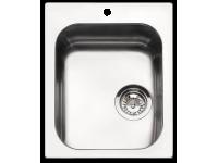 Мойка, Нержавеющая сталь матовая Smeg VS34-P3
