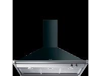 Вытяжка настенная, 100 см, Чёрный Smeg KD100NE