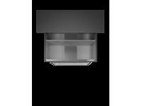 Встраиваемая вытяжка, 74 см, Белый Smeg KSGT74B