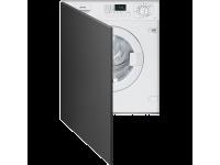 Встраиваемая стиральная машина, 60 см, Белый Smeg LBI147