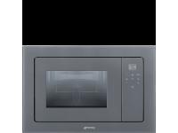 Встраиваемая микроволновая печь, 60 см, Серебристый Smeg FMI120S2