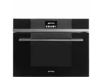 Встраиваемый духовой шкаф, 59,7 см, Чёрный Smeg SF4104VCN