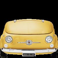 Отдельностоящая холодильная камера, Жёлтый Smeg SMEG500G